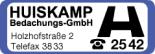Huiskamp Bedachungs GmbH